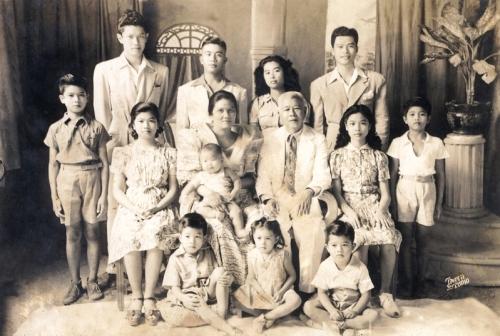 Porfirio Yap-Mercedes Tapia family 1941